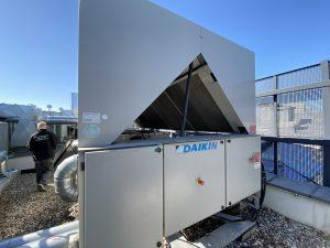 Serwis agregatu wody lodowej Daikin EWAD560D