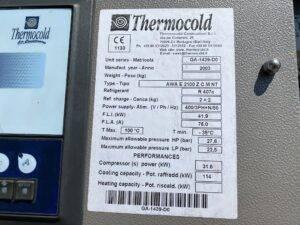 Serwis agregatu wody lodowej Thermocold GA1439D0