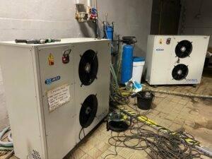 Serwis agregatu wody lodowej MTA CY051