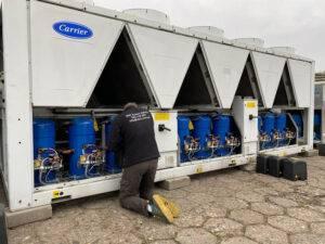 Serwis agregatów wody lodowej